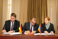 """Farm Credit Armenia"" Credit Cooperative and ""Saving Banks Foundation for International Cooperation"" Signed a Memorandum of Understanding"