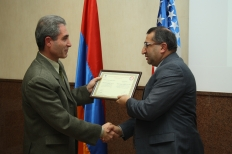 "Ceremony Devoted to ""Farm Credit Armenia"" UCO CC 1000th Member-Borrower"