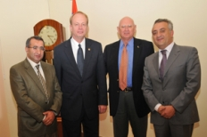 U.S. Farm Credit Administration Chairman and CEO Lee Strom visited Farm Credit Armenia UCO CC