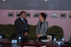 US Ambassador's visit to Farm Credit Armenia office