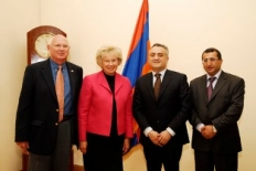 The highest authority officials of the U.S. Farm Credit System are in Armenia