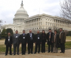 Farm Credit Armenia UCO CC Board members, CEO Armen Gabrielyan and Board Secretary visited the United States